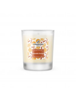 bougie naturelle parfumée Cannelle Orange 200 g