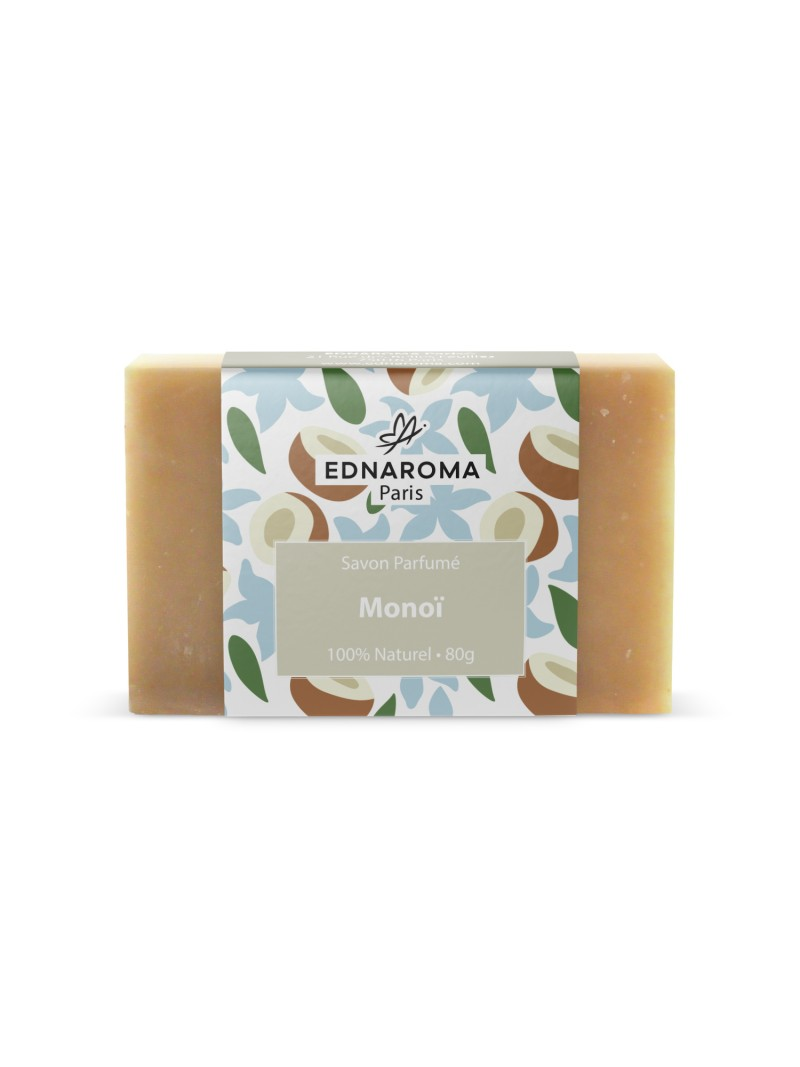 Savon surgras naturel parfumé MonoÏ 80g
